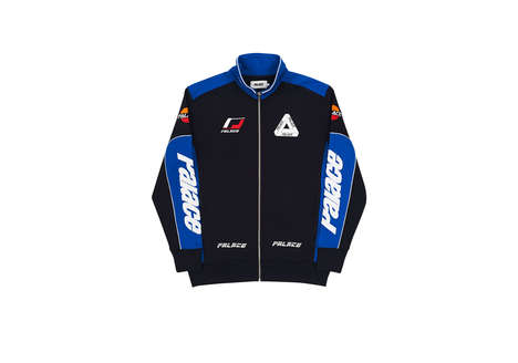 Auto Sport-Inspired Tracksuits - The Palace YAMAN Tracksuit Channels Car Racing Themes