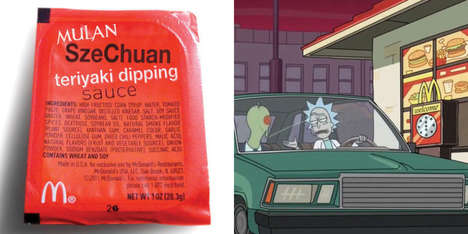 Cartoon-Fueled Fastfood Comebacks - McDonald's Szechuan Sauce May Be Revived by 'Rick and Morty'