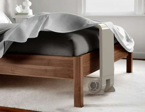 Bed Sheet Cooling Fans - The 'bFan' Cooling Bed Fan Stabilizes the Temperature Under the Sheets