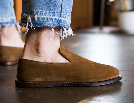 Traveling Shoe-Inspired Slippers - The Viberg Slipper Shoe is Crafted from High-End Materials