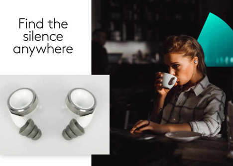 Noise Reduction Earbuds - The 'Knops' Adjustable Hearing Solution Blocks Out Unwanted Noise