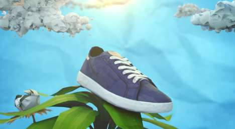 Plant-Based Sneakers - Reebok's Cotton + Corn Sneakers Can Be Composted After Use