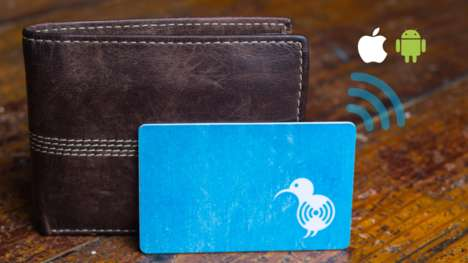Card-Sized Wallet Trackers - The KiwiCard is an Ultra-Thin, Waterproof Bluetooth Tracking Device