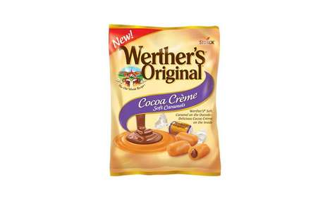 Premium Cocoa Caramel Candies - The Werther's Original Cocoa Crème Soft Caramels are Chocolatey