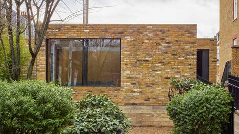 Prison-Topping Brick Homes - 'Hidden House' in London was Designed by Flat C/Architecture