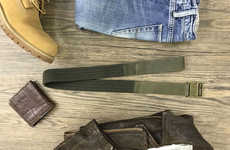 Self-Adjusting Magnetic Belts - The 'Qlick' Magnetic Men's Leather Belts Adjust with Movement