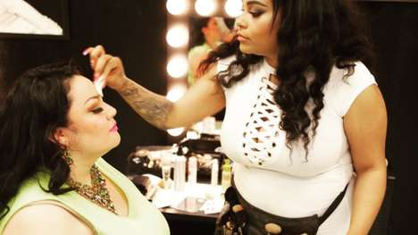 Body Positive Beauty Salons - Babydoll Beauty Couture Caters Specifically to Plus-Size Consumers