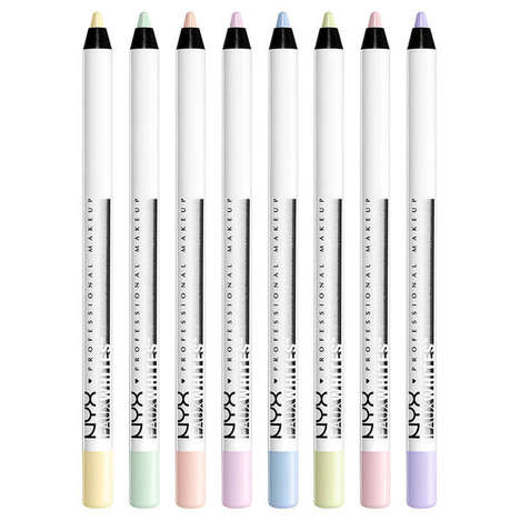 Colored Eye-Brightening Pencils - NYX's Eye Pencils Can Create Distinct but Subtle Makeup Looks