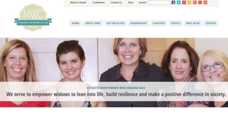 Widow Empowerment Clubs - The 'Modern Widows Club' Helps Those Who've Lost Their Partners to Heal