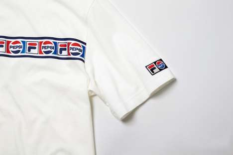 Soda-Branded Athletic Wear - FILA Korea Joined Forces with Pepsi to Launch a New Line of Apparel
