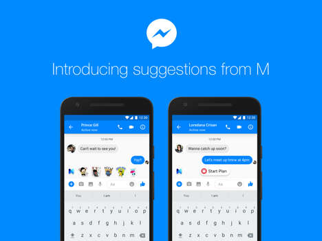 A.I. Chat App Assistants - Facebook Messenger M Helps Make Plans, Payments and More