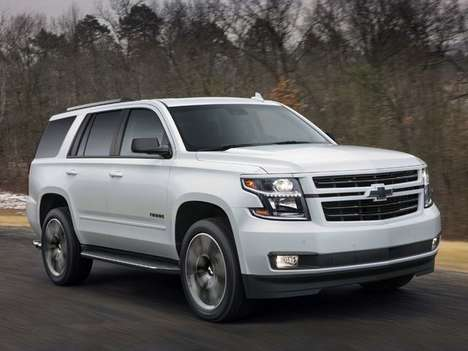 Speedy Special Edition SUVs - The Chevrolet Tahoe RST is a Performance-focused Family Hauler
