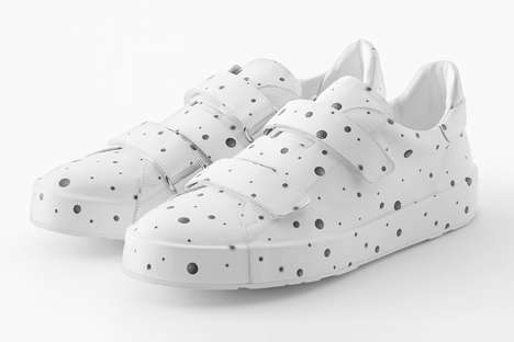 Minimalist Polka Dot Fashion - Nendo and Jil Sander Teamed Up for the 'Objectextile' Exhibition