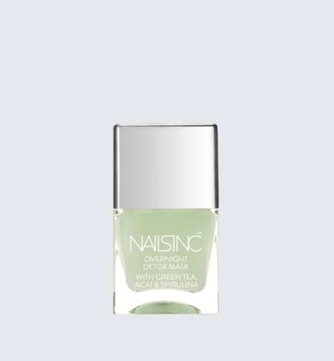 Overnight Nail Treatments - This Superfood-Infused NAILS INC Product Nourishes Nails at Night