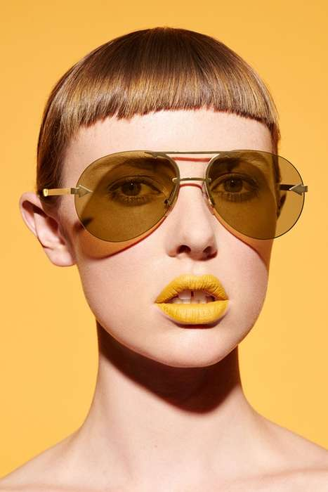 Eyeshadow-Inspired Sunglasses - The New Karen Walker Eyewear Collection Makes a Bold Statement