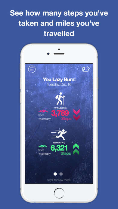 Snarky Fitness Trackers - The Walk Against Humanity App Taunts You into Reaching Your Goals