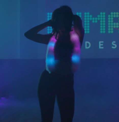 Reactive Light-Up Clothing - Lumactive Designs' Interactive Light-Up Clothing Responds to the Wearer
