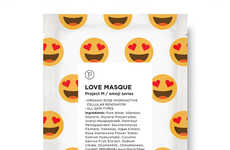 Emoji-Inspired Face Masks - Petite Amie's Face Mask Treatments are Inspired by Emojis