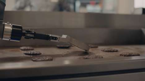 Burger-Flipping Robots - Miso Robotics' 'Flippy' Helps to Speed Up Fast Food Orders