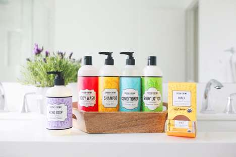 Plant-Based Body Care Collections - Fresh Thyme's Products Have a 'Free From' Ingredient Policy