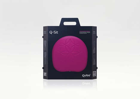 Portable Fitness Balancing Cushions - The Q-Sit Offers a Convenient Method of Staying in Shape