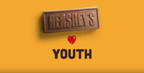 Edible Chocolate Websites - Hershey's Brazil Created a Viral Campaign to Promote Its Chocolate