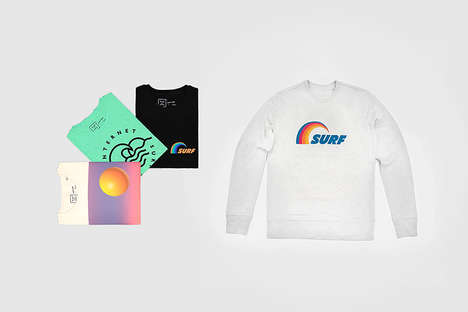 Cyber Surf Culture Apparel - The MAMAMA Internet Surf Club 2.0 Collection Boasts Graphic Streetwear