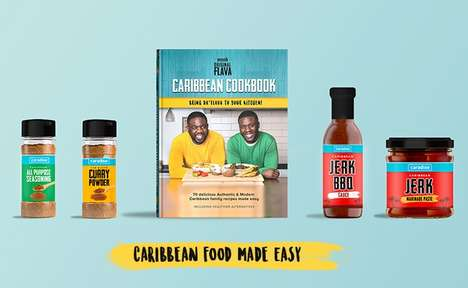 Caribbean Cookbook Collections - This Recipe Book and Accompanying Products Offer Authentic Dishes