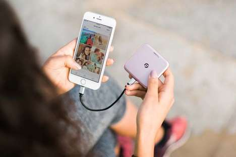 Smartphone Photo Drives - The 'Fotofami' Photo Storage Device Backs Up Your Camera Roll