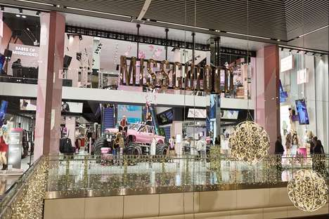 Glamorous eCommerce Flagships - Missguided's New Flagship is the eTailer's First Standalone Store
