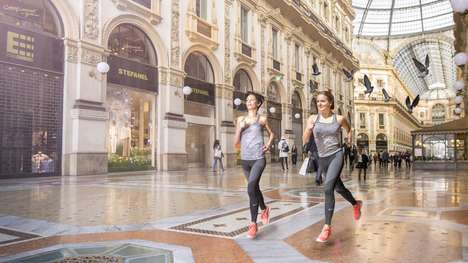 Hotel Running Programs - Guests at the Four Seasons Hotel Milano May Run with a Private Nike Coach