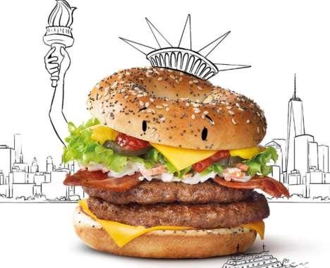 New York Bagel Burgers