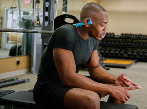 Bone Conduction Sport Headphones - The 'CONDUIT Sports' Dynamic Headphones are Ideal for Athletes