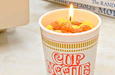Ramen Noodle Cup Candles