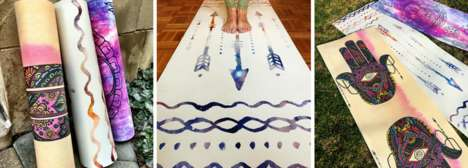 Eco-Friendly Charitable Yoga Mats - Gypsea Yoga Goods Aims to Contribute to Coral Reef Conservation