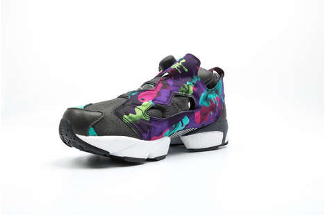 Stained Glass-Inspired Sneakers - The Reebok Instapump Fury Interrupt Features the Sistine Chapel