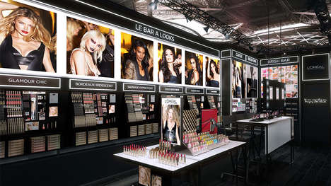 Standalone Beauty Brand Boutiques - L'Oréal Opened Its First French Store During Paris Fashion Week