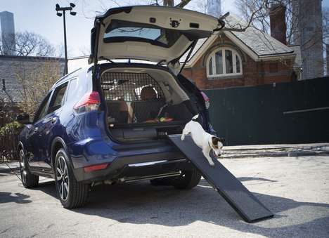 Dog-Friendly SUVs - The Nissan Rogue Dogue is Perfect for Porting Pups