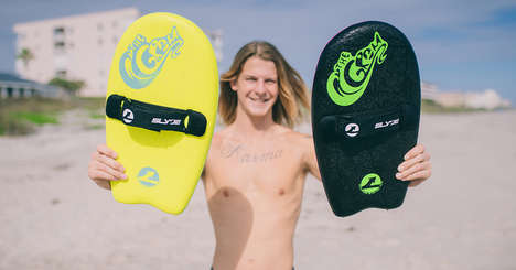 All-Ages Wave Boards - Slyde Handboards Offer an Easy, Fun Riding Experience for All Skill Levels