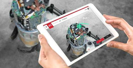Industrial Augmented Reality Software - PoindextAR Can Track Fine Details on Industrial Machinery