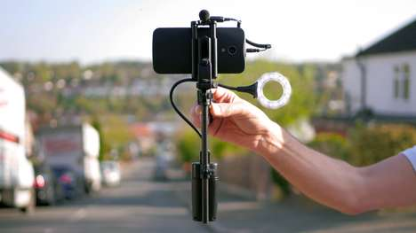 Balancing Photography Rigs - The 'miniRIG' Gimbal Stabilizers Ensure Optimal Control