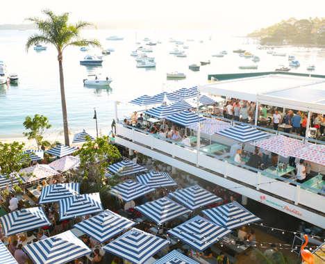 Pop-Up Beach Bars
