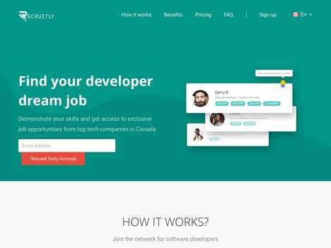 Dedicated Developer Recruitment Networks - 'Recruitly' Offers a Platform to Find Developer Jobs