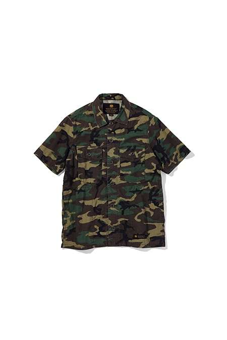 All-Camouflage Streetwear Capsules - The New NEIGHBORHOOD Consists of Military-Inspired Apparel