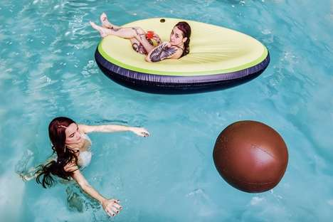 Millennial-Themed Pool Floats - Kool Pool's Float Shapes Resonate with Millennials