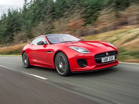 Downsized Luxury Sports Cars - The Four-cylinder Jaguar F-Type is Cheaper and More Fuel Efficient
