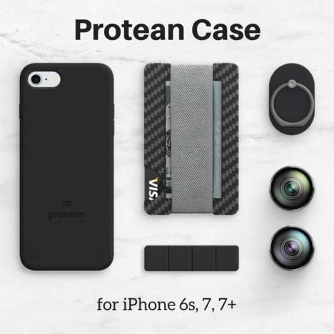 Multipurpose Phone Cases - Protean Turns iPhones Into a Pro Camera, GPS, Wall Speaker or a TV