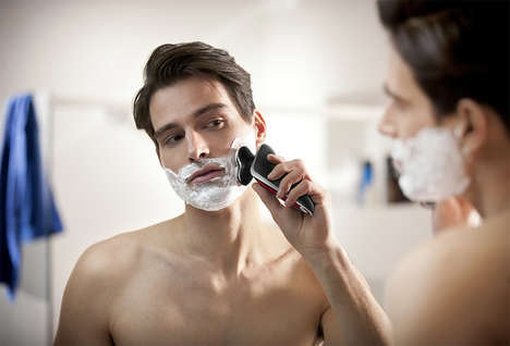 Connected Facial Hair Groomers - The Audi Philips Shavers Merge the Aesthetics of Both Brands
