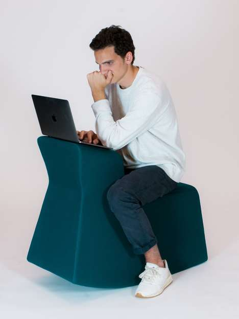 Laid-Back Computer Seats - The 'Trote' Seat Chair Draws Inspiration from the Rocking Horse