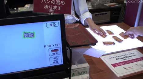 Bread Recognition Scanners - 'Bakery Scan' is a POS System That Boasts Image Recognition